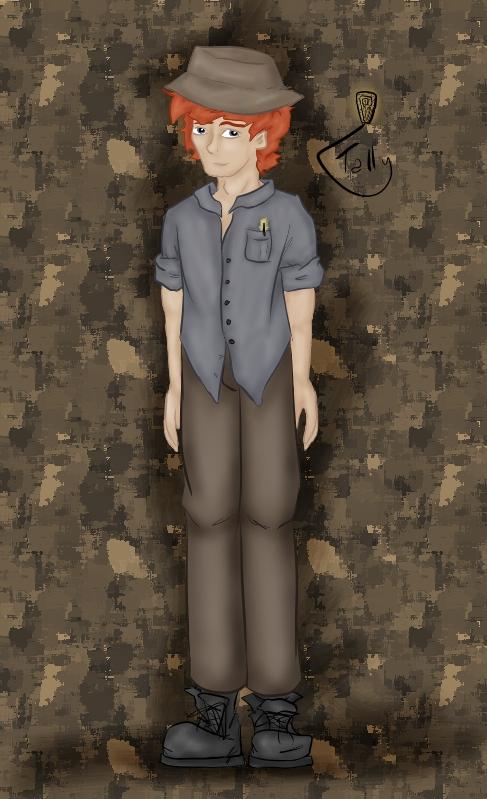 Detective J. Macy-Ferrell by Kid-Apocalypse