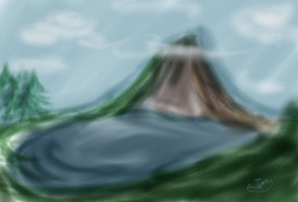 Mountain by Kid-Apocalypse