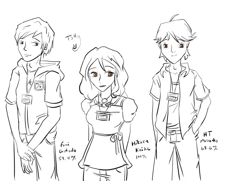 Cadoi City Crew -lines- by Kid-Apocalypse