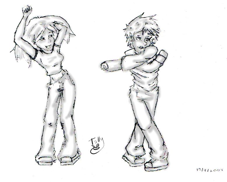 Pose Practice Du by Kid-Apocalypse
