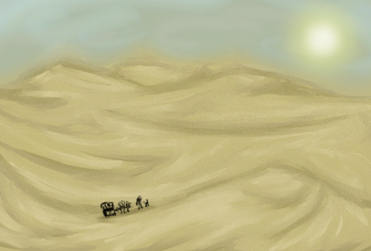 Desert Travellers by Kid-Apocalypse