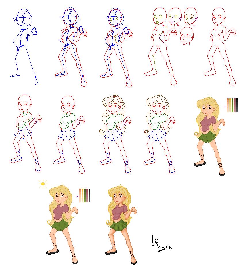 pixel process by Kid-Apocalypse
