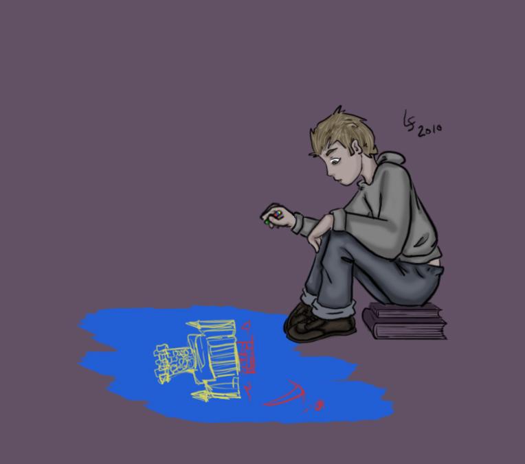 Chalk Boy by Kid-Apocalypse