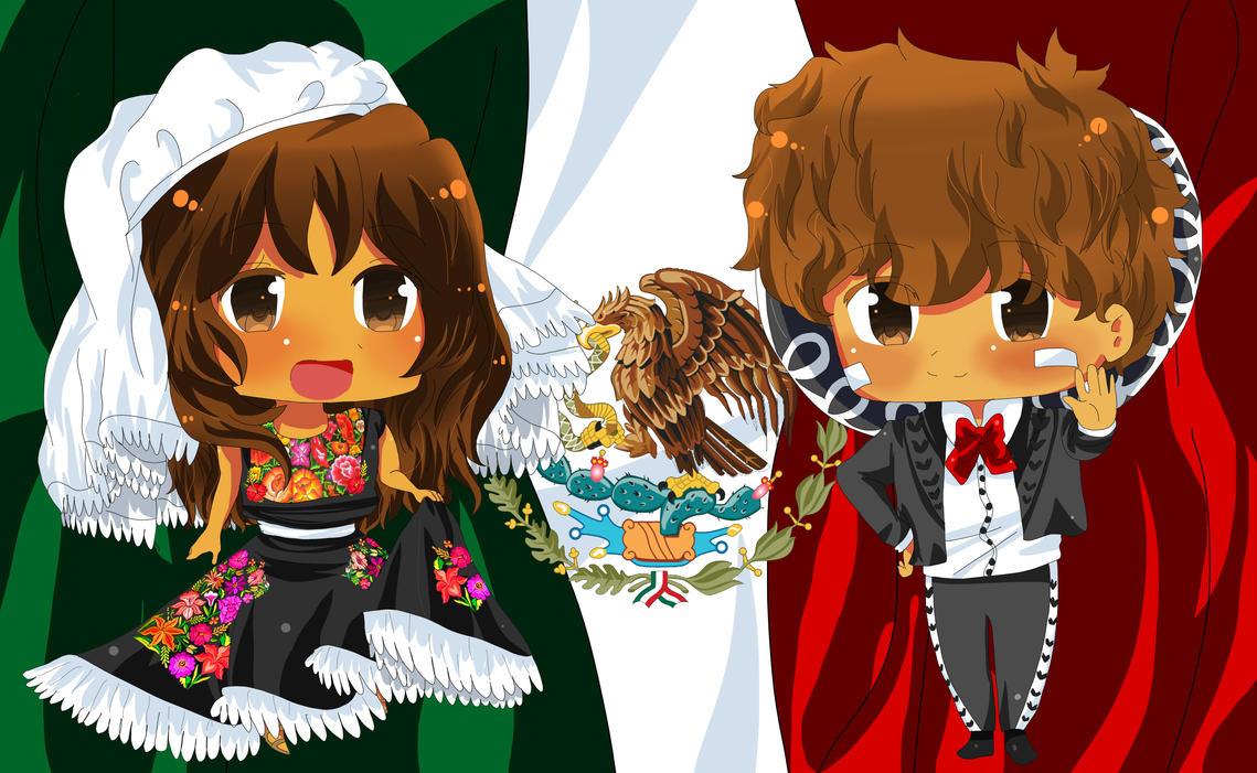 APH  Hetalia VIVA MEXICO by XxHikaru00Xx on DeviantArt