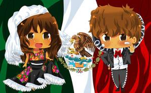 [ APH ] Hetalia VIVA MEXICO by XxHikaru00Xx