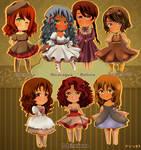 [ APH ] Hetalia Little ladies