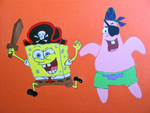 Spongebob as a Pirate