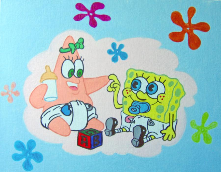 Baby Spongebob and Patrick by linus108Nicole on DeviantArt