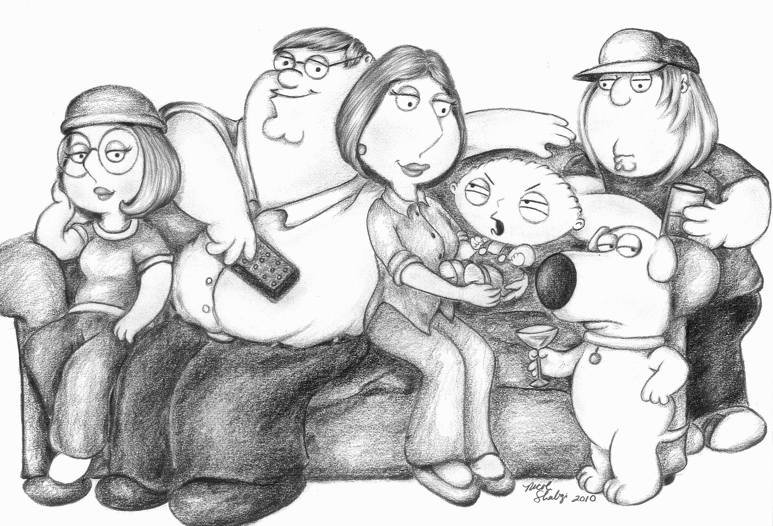 Family Guy by linus108Nicole on DeviantArt