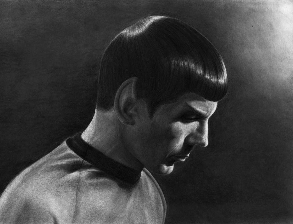 TOS Series: Spock by linus108Nicole