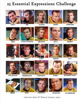 Kirk 25 Expressions Challenge