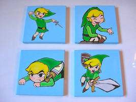The Legend of Zelda: The Wind Waker Oil Paintings