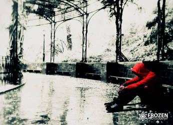 Alone in the Rain by arashvenom