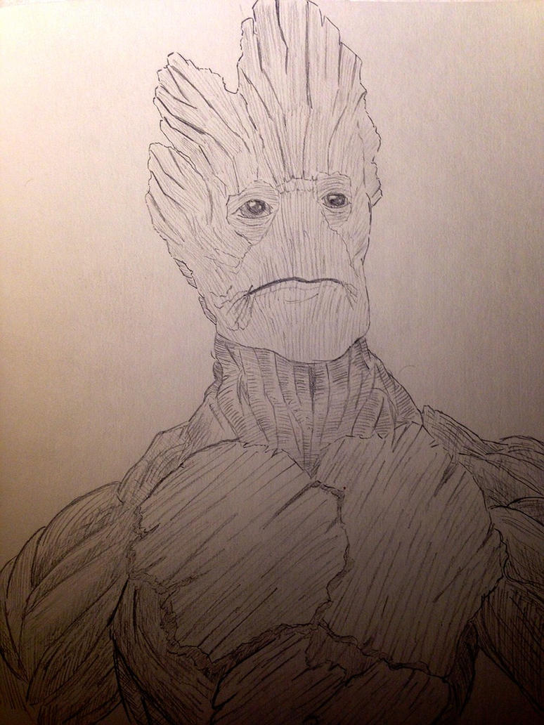 Groot by AbbitraryLabby