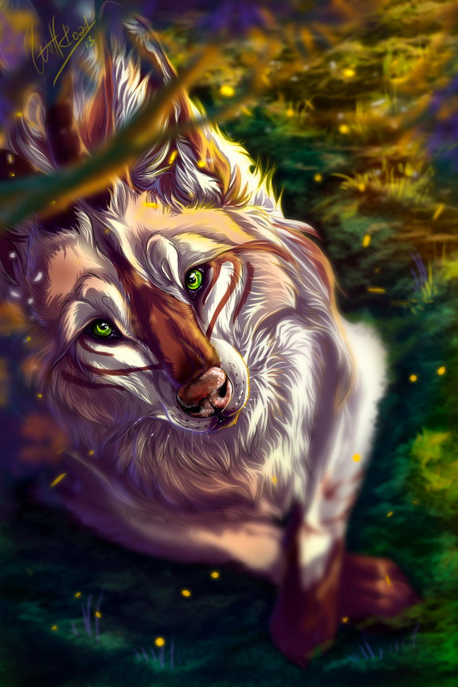 Aisha by WolfRoad