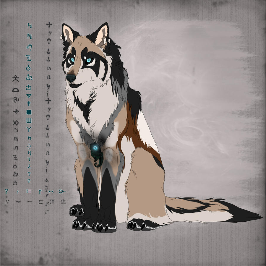 Shaman wolf by WolfRoad
