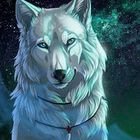 Iconcomm Nagi-wolf by WolfRoad