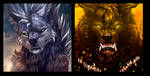 Icon Batch valawolf and worgewolf by WolfRoad