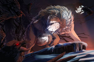 The night is dark and full of terrors by WolfRoad