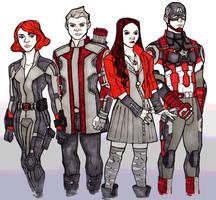 Red Thread by Iro-the-Random-one