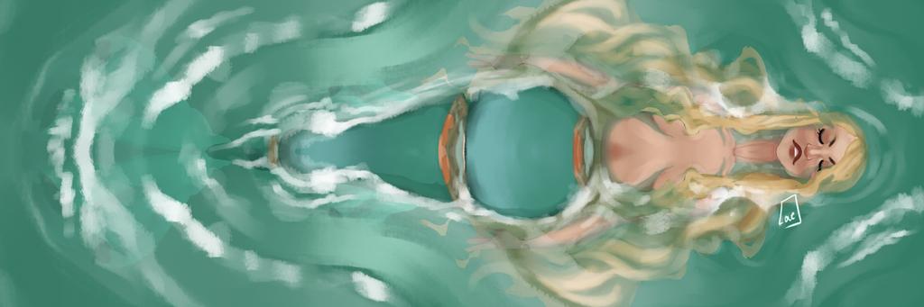 The big bad ocean by Owllion