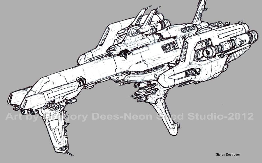 Sieren Destroyer by GTDees