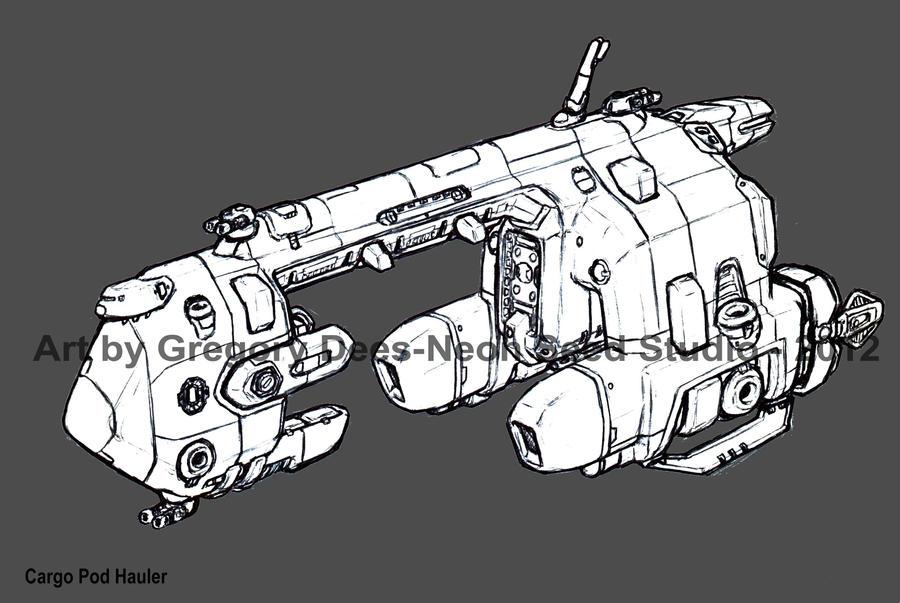 Cargo Pod Hauler by GTDees