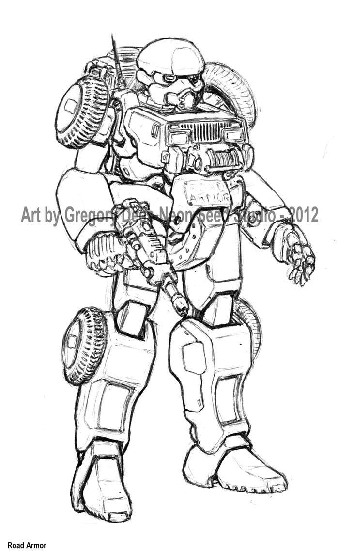 Road Armor by GTDees