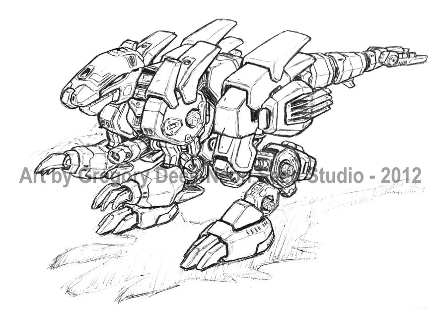 Zoid 1 by GTDees