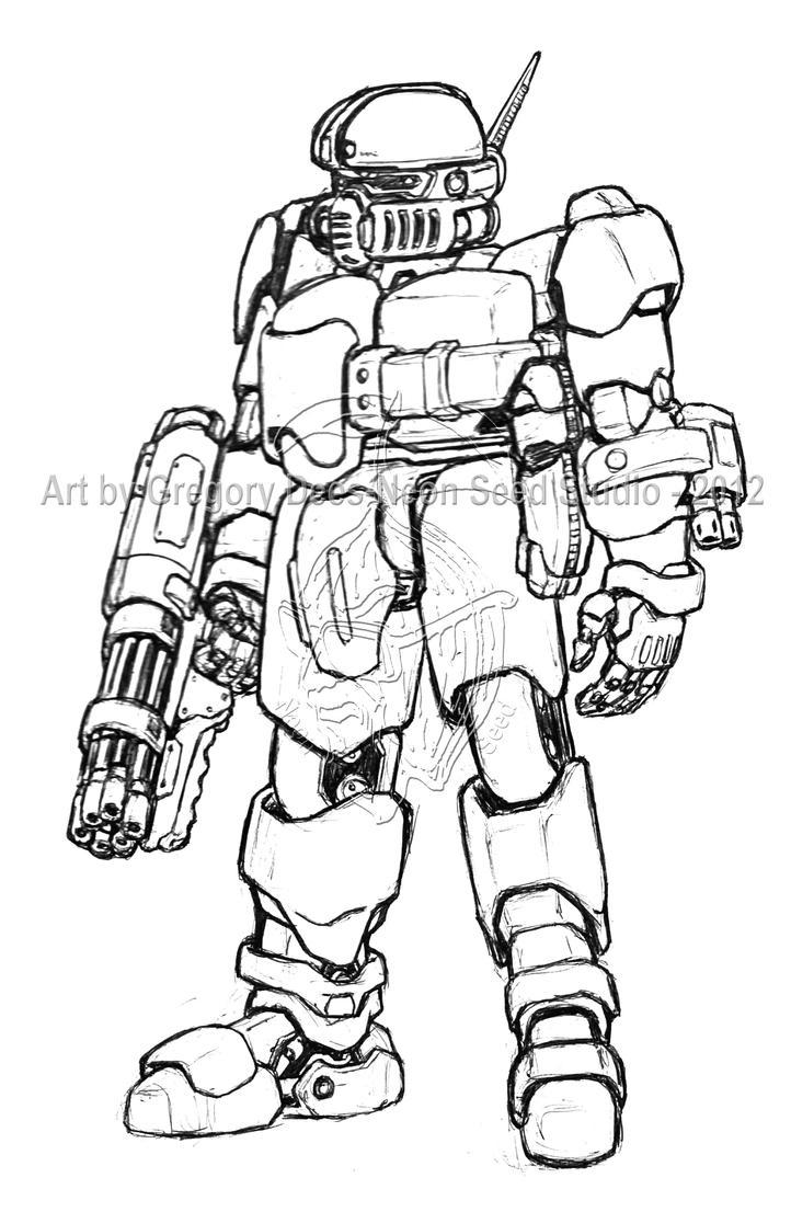 Spacetrooper Heavy by GTDees