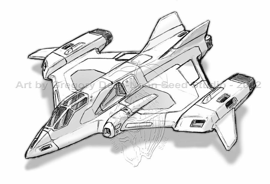 Russian Space Fighter by GTDees