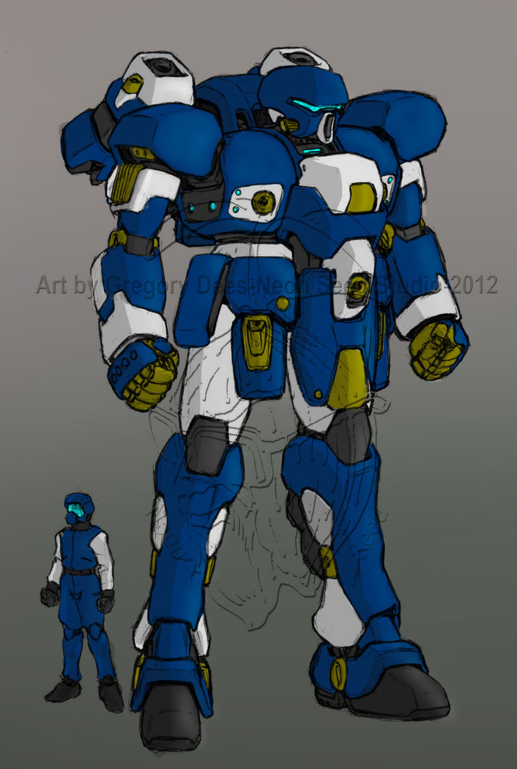 Abrams Sketch Colored by Kirill Predator by GTDees
