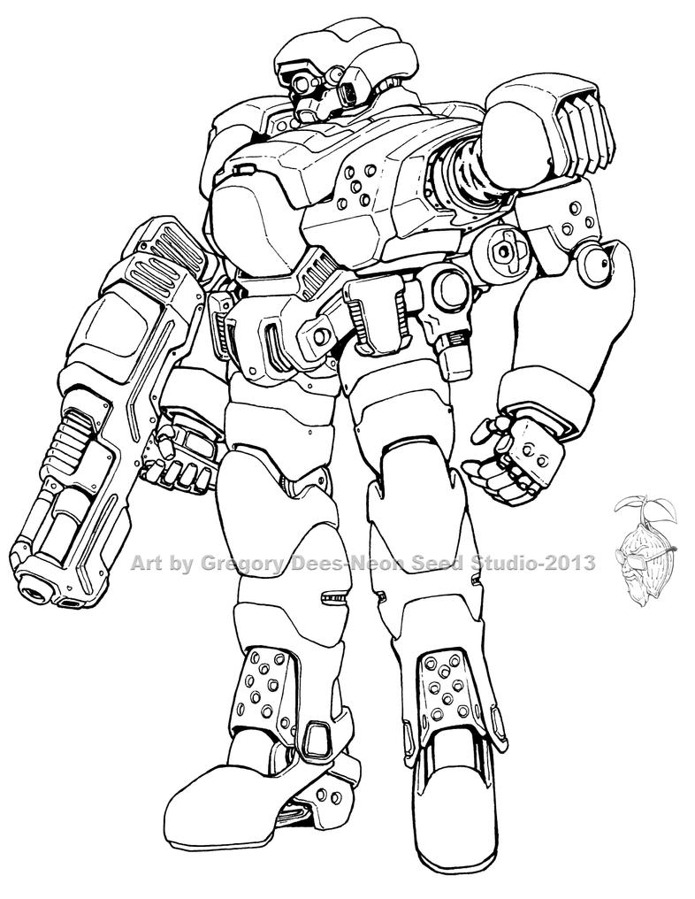 Broadsword Battlesuit by GTDees