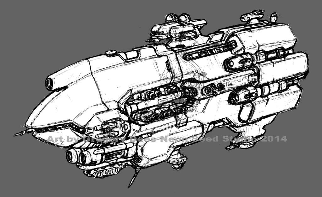 Another Gunship by GTDees