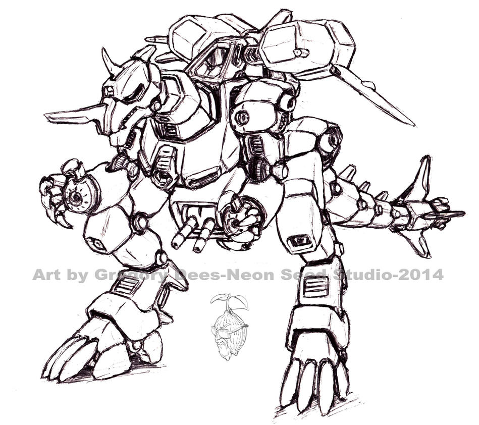 Armor Rex by GTDees