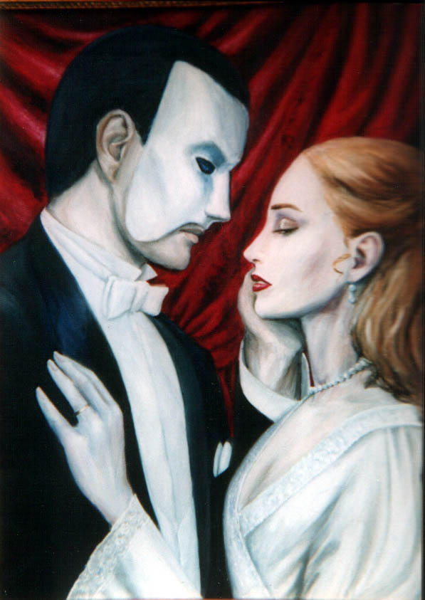 Dashinvaines Phantom Painting by Phantom-of-DA-Opera