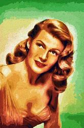 Rita Hayworth by peterpicture