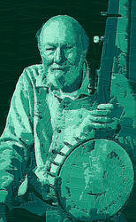 Pete Seeger by peterpicture