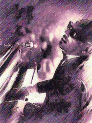 Ray Charles by peterpicture