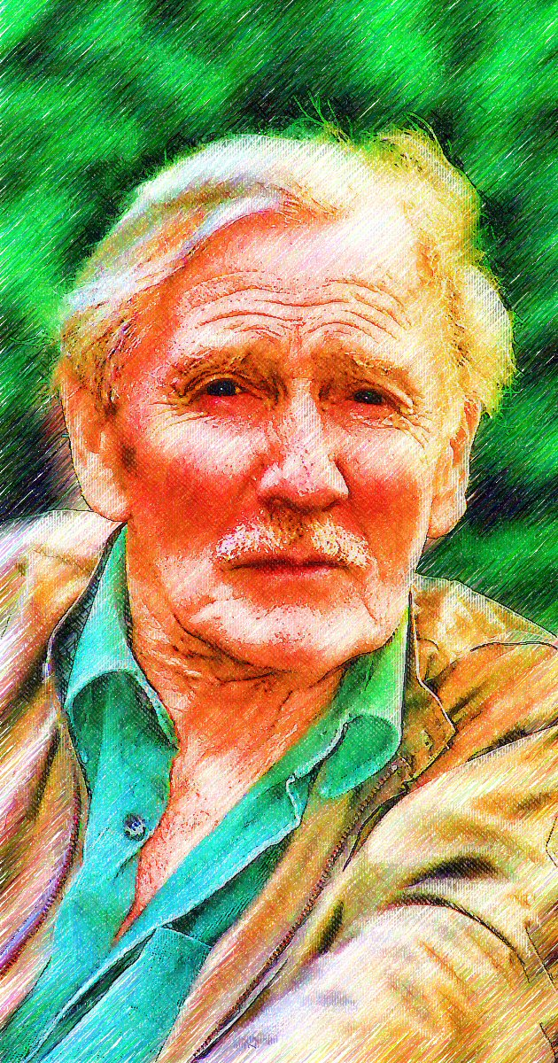 Leslie Phillips by peterpicture