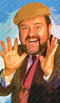 DOM DELUISE by peterpicture