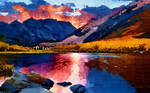 REFLECTING LIGHT ON THE LAKE