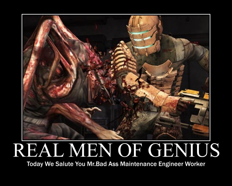 Real Men Of Genius Dead Space By Psyclonius ...