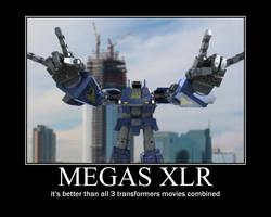 Megas XLR by psyclonius