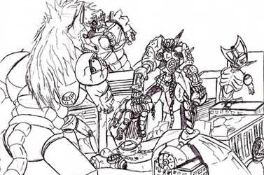 Neo Aswang Inavasion by psyclonius