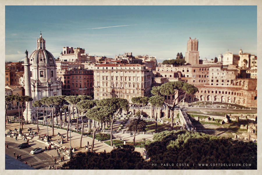 Rome Postcard by synth101