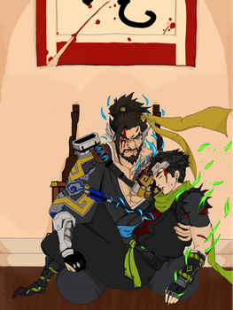 Genji and Hanzo Shimada