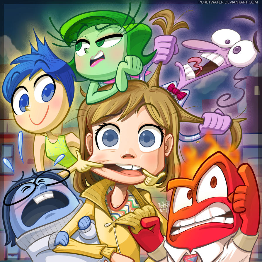 Inside Out 2015 Film: Inside Out By Pure1water On DeviantArt