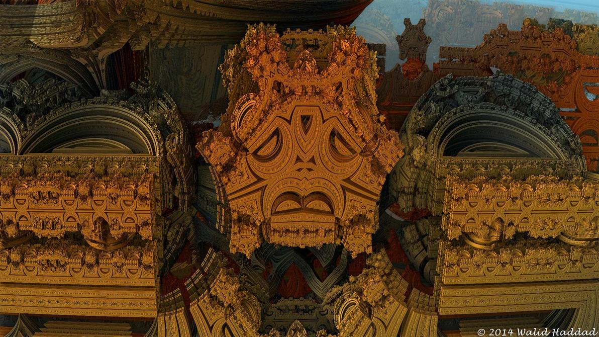 Fractal 3D 050 by whaddad