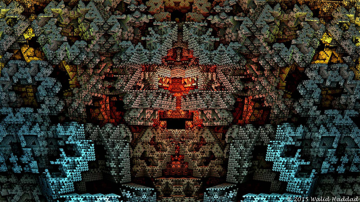 Fractal 3D 129 by whaddad